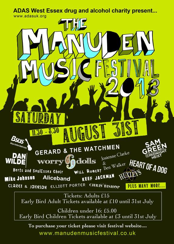 Manuden Music Festival Saffron Walden Arts Trust