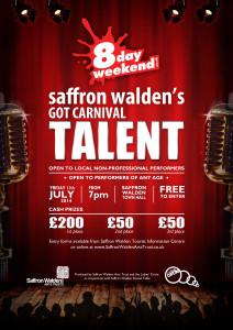 Saffron Walden's Got Carnival Talent